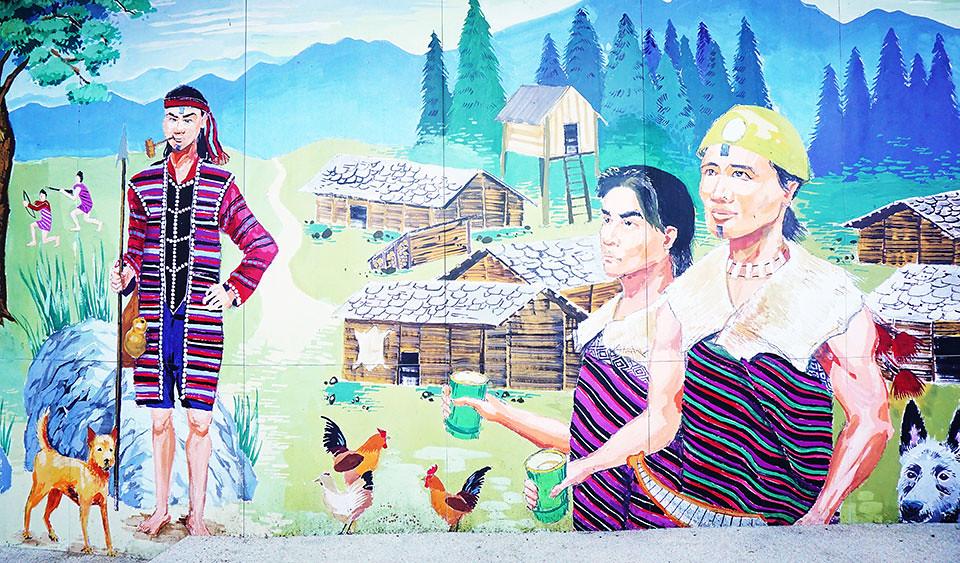 楓之谷美麗壁畫之一