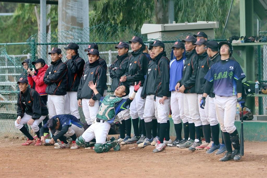 花蓮體中棒球隊。(學生聯盟提供)