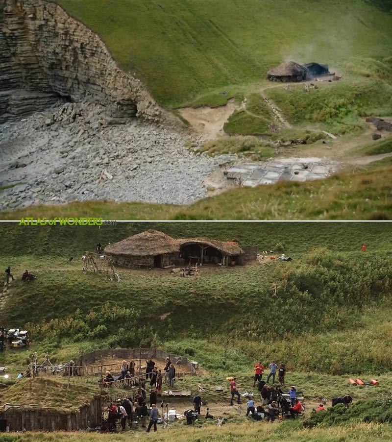 Britannia series filmed Wales