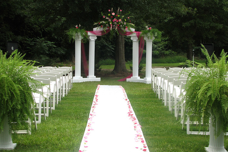 Garden Wedding location