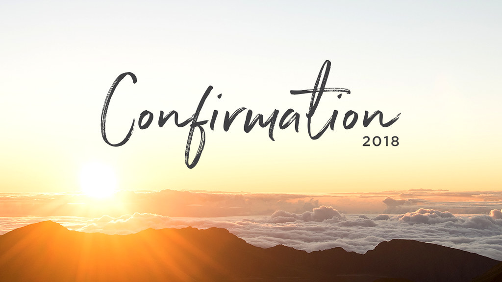 Image result for confirmation sunday