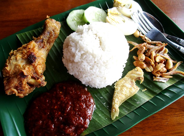 Warong nasi lemak special