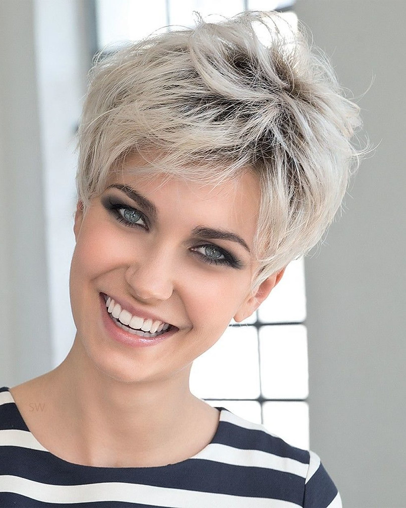 Ultra Short Hairstyles Pixie Haircuts Hair Color Ideas Flickr