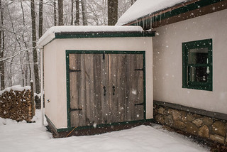 Shed in Snow | by goingslowly
