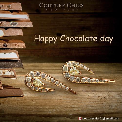 gold Chocolate day Gift. Chocolate...