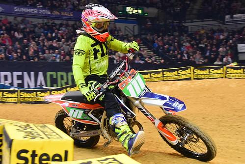 Buster Hart, Supermini, Arenacross Tour, Sheffield 2018