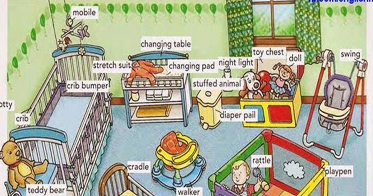 Vocabulary: The Baby's Room 5