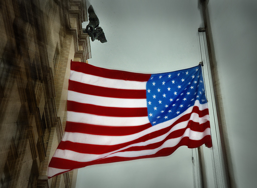 флаг США - репортажный фотограф Челябинск