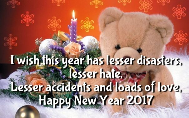 happy new year 2018 quotes new year 2017 teddy bear wallpapers quotes and images