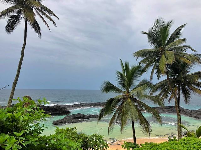 Playa en Isla de Rolas (Santo Tomé y Príncipe)