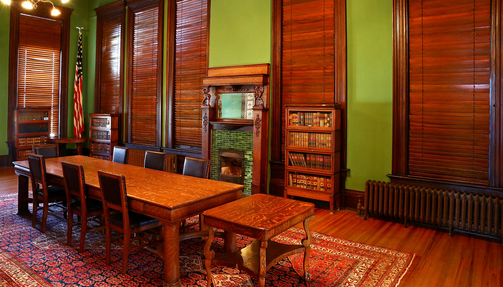 ... Reading Room   Carnegie Library   Guthrie, Oklahoma | By Victor  Hamberlin