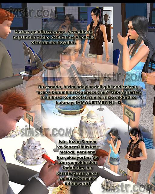 The Sims 2 FreeTime Hobbies Cuisine Make Food for Contest Yemek Pişirme Sanatı Hobisi Yemek Yarışmaları