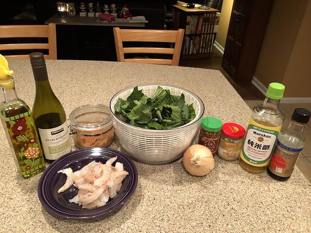 Stir Fried Shrimp & Bok Choy - Idiot's Kitchen