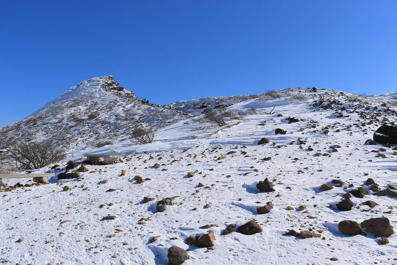 冬の那須岳・朝日岳登山