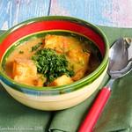 Curry mit Erbsen und Käse – Paneer mattar