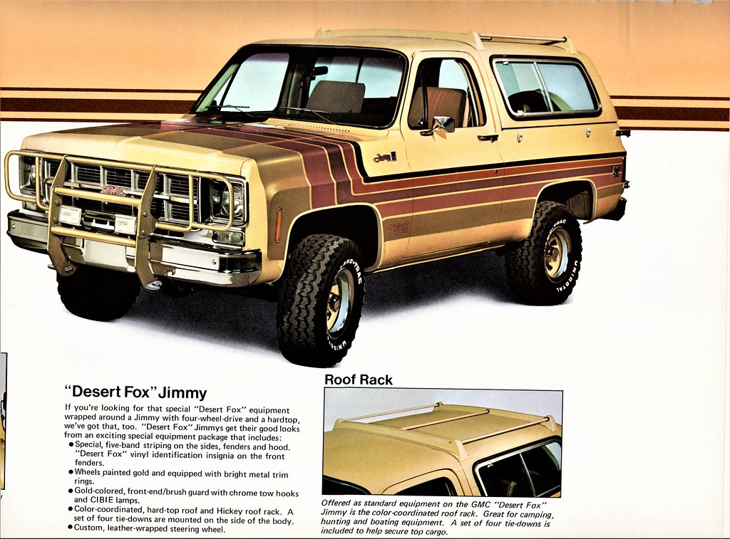 1979 GMC Desert Fox Jimmy | Equipment by Hickey ...