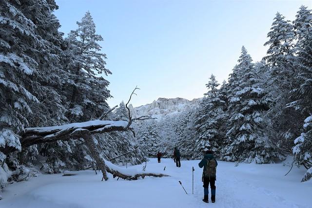 冬の赤岳(八ヶ岳)雪山登山