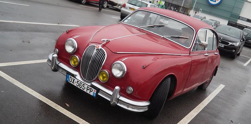 Jaguar MK2 / 3,4 litres 1967 - Rambouillet (78) Janvier 2018  28035694379_b361485e1a_c