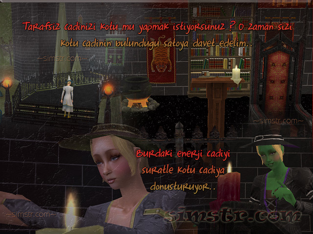 The Sims 2 Apartment Life Apartman Hayatı Witchiness Cadılık Transportation Magical World