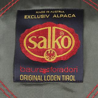 Etichetta Salko cappotto vintage loden