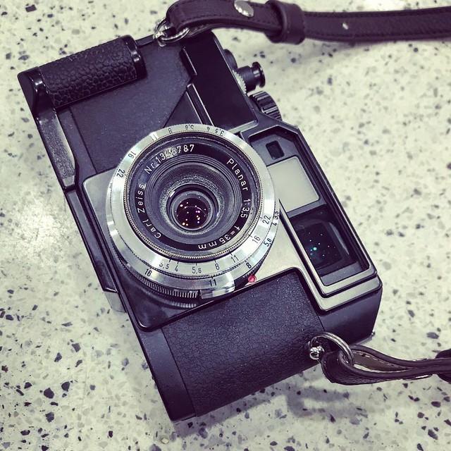 Contax planar 35mm f3.5 RF年代的planar廣角
