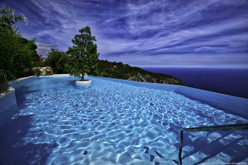 la magnifique piscine du ch teau de la ch vre d 39 or eze v flickr. Black Bedroom Furniture Sets. Home Design Ideas