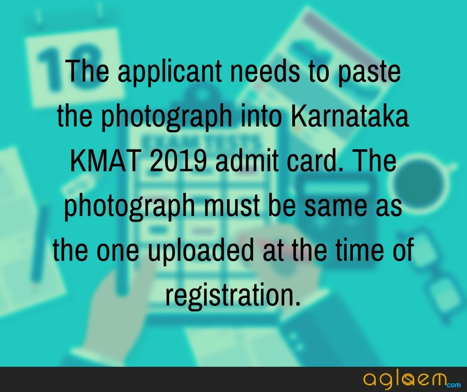 Karnataka KMAT Admit Card 2019