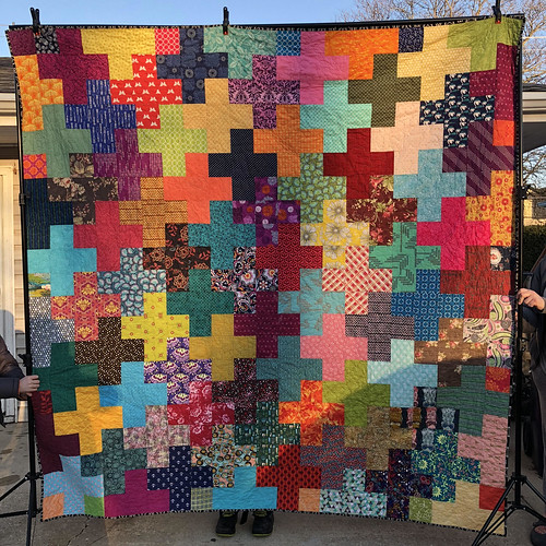 Scrappy Plus Front | by Grey Cat Quilts