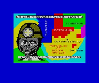 Pitman Seven for ZX Spectrum | by Deep Fried Brains