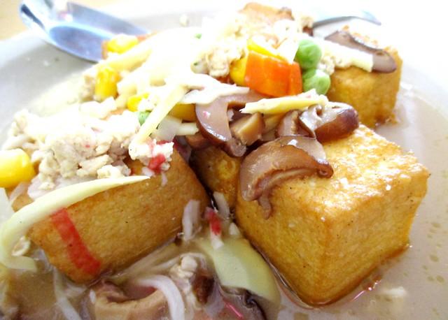 Home Cook own-made tofu