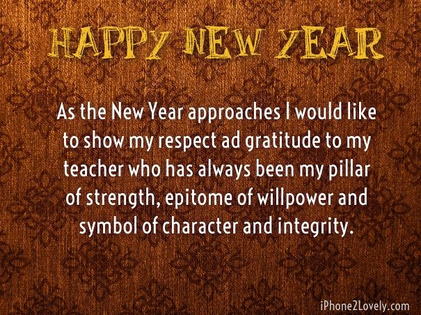 happy new year 2018 quotes wishes for teacher happynewyear by