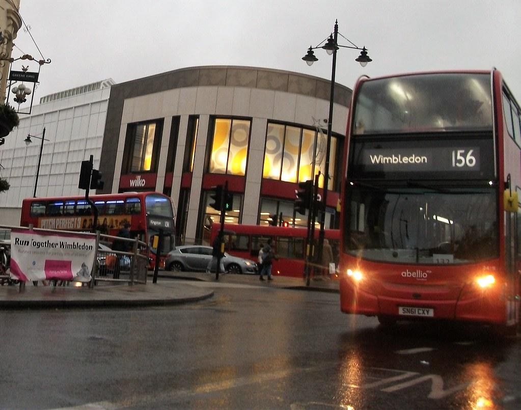 by Ledlon89 Abellio London 2419 on route 156 Wimbledon 27/01/18. | by  Ledlon89