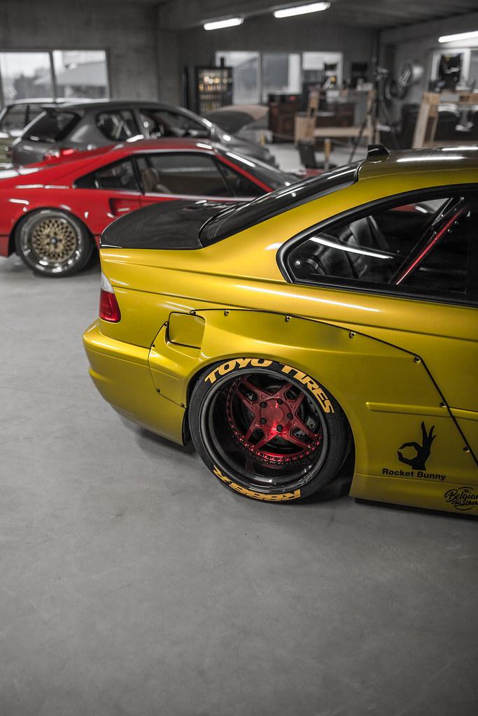 Bmw E46 M3 >> Rocket Bunny BMW E46 M3 | VLS450 | Brushed Candy Red / Polis… | Flickr