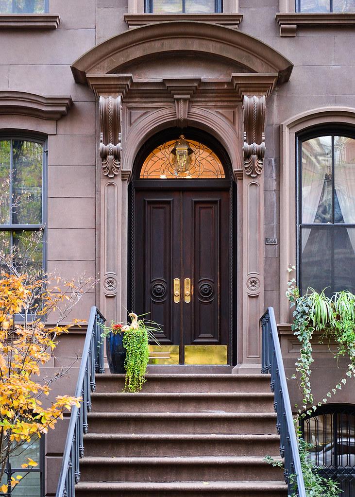 Portal de la casa de Carrie en Sexo en Nueva York