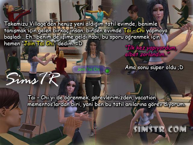 The Sims 2 Bon Voyage Tai Chi