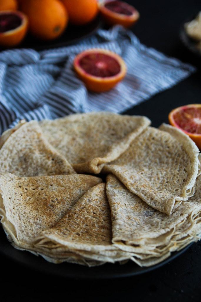 Crêpes vegan et sans gluten recette