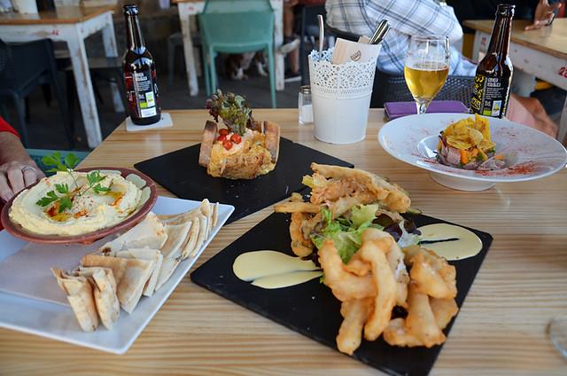 Lunch, Veinte 04, El Medano, Tenerife