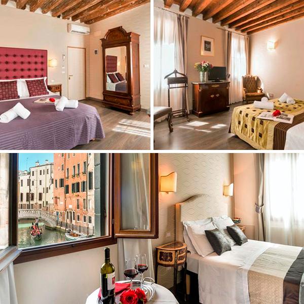 Ca Maria, un homenaje con habitaciones con vistas a los canales en Venecia