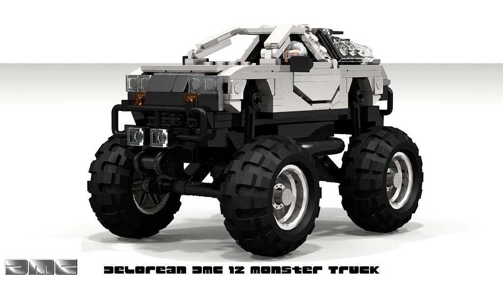 Delorean Dmc 12 Monster Truck By Lego59hz