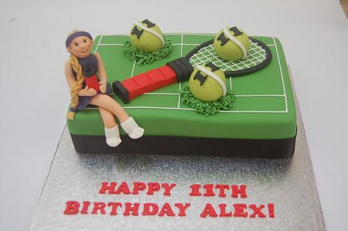 Marvelous Tennis Cakes Beautiful Birthday Cakes Funny Birthday Cards Online Alyptdamsfinfo