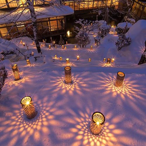 travel おはようございます。キラキラした空気の中で、雪景色がまぶしい...