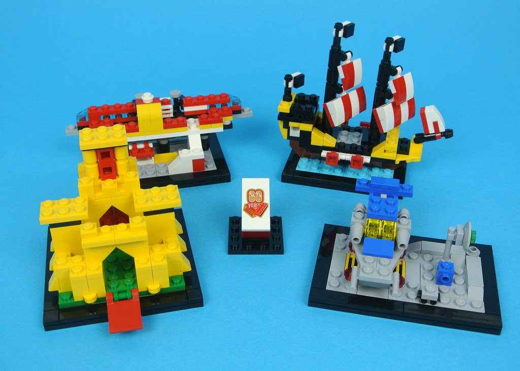 Review 40290 60 Years Of The Lego Brick Brickset Lego Set Guide