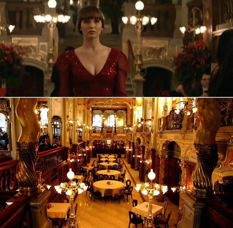 Red Sparrow shooting locations