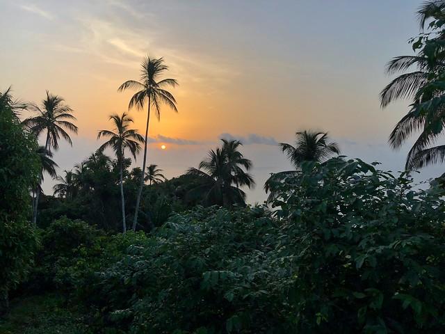 Atardecer en la isla de Príncipe (Santo Tomé y Príncipe)