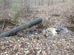 Old Modernish Pipe Culvert
