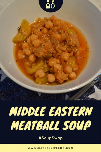Middle Eastern Meatball Soup | by katesrecipebox