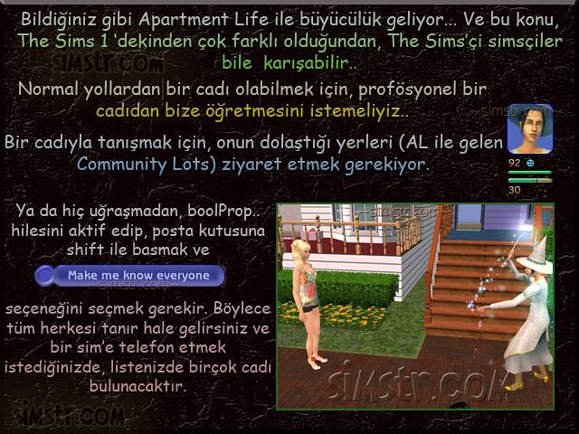 The Sims 2 Apartment Life Apartman Hayatı Witchiness Cadılık
