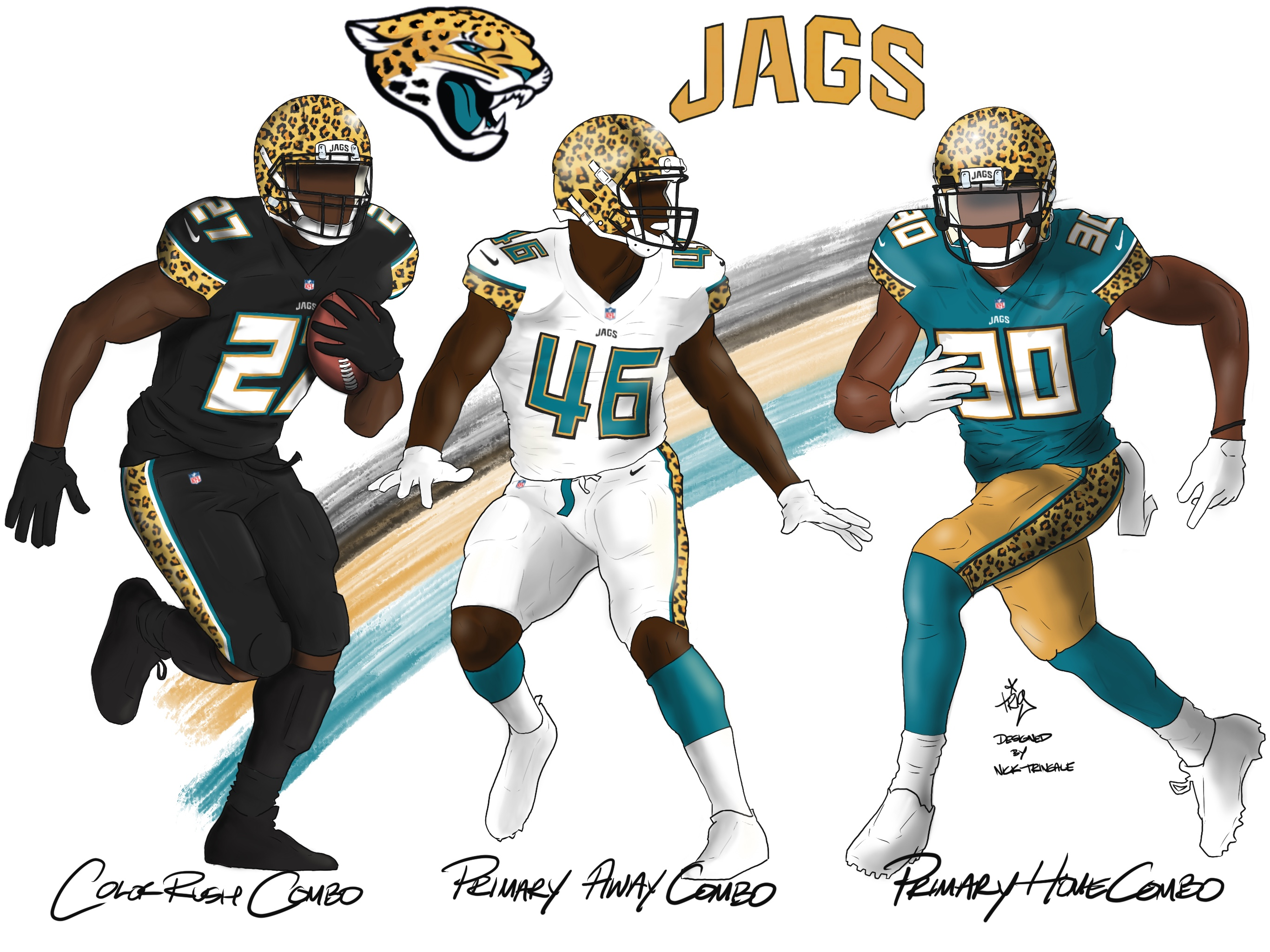 Jacksonville Jaguars New Uniforms 2020.The Jacksonville Jaguars Almost Hit The Mark With Its New