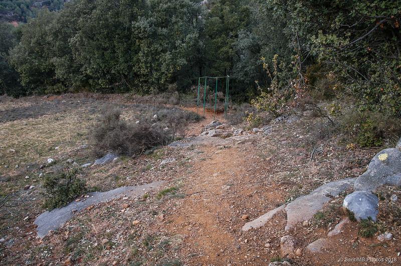Sendero de Sant Quirze de Pedret al Pont de Pedret