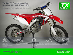 TX RACE™ Conversion Kit® for Honda CRF250R 2006 2007 2008 2009